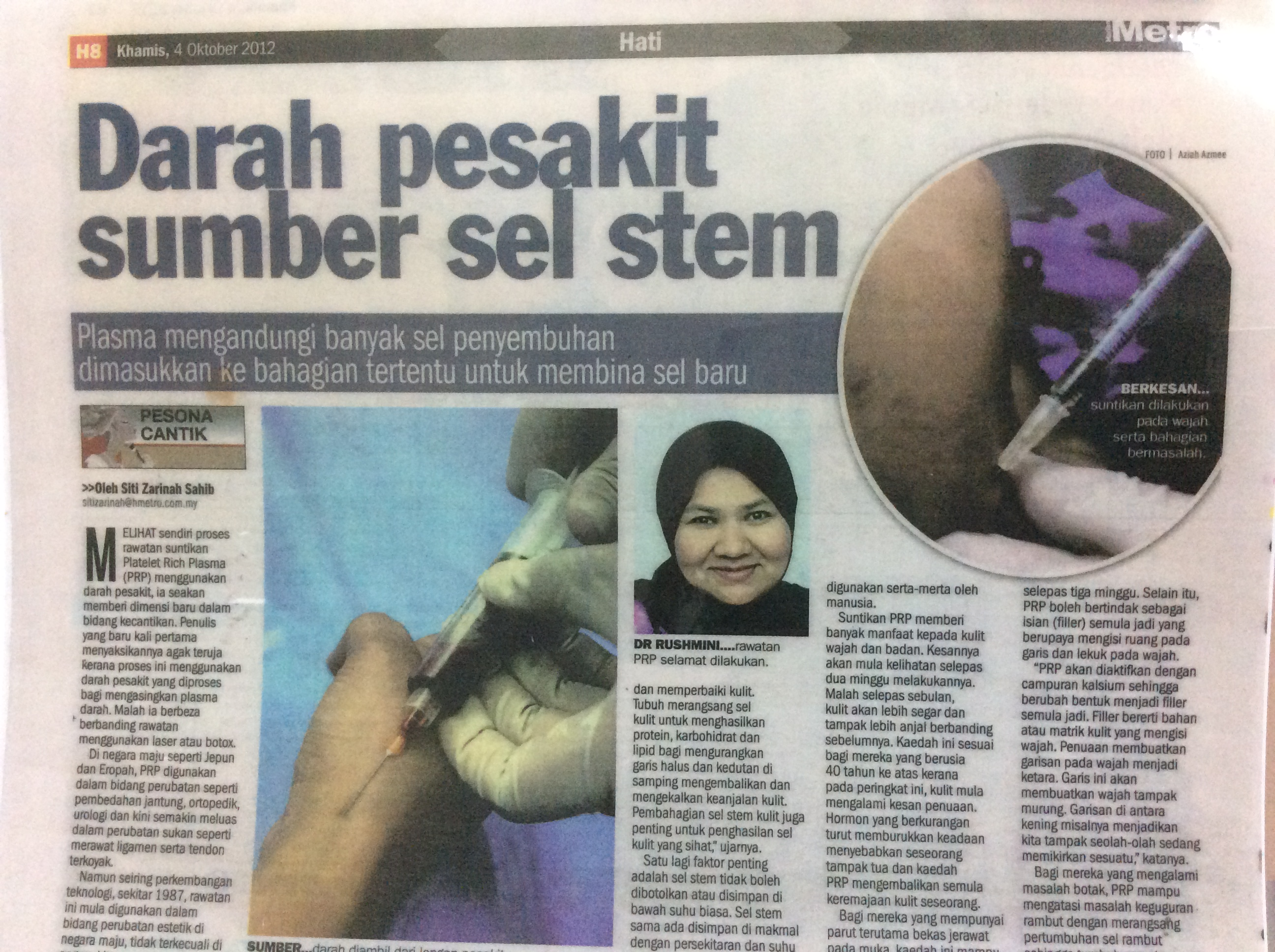 Hasil carian imej untuk dr rushmini maris ismail