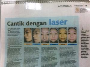 laser pixel